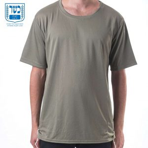 tzitzit t shirt dry fit green