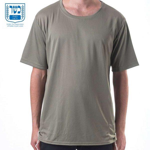 tzitzit t shirt dry fit green