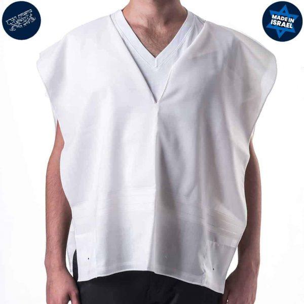 Wool Tzitzit White