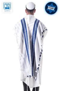 Wool Tallit Blue