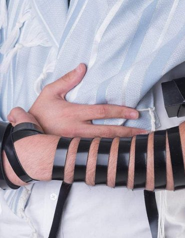 Tallit and Tefillin together