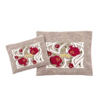 talit tefillin bag gold pomegranate talit
