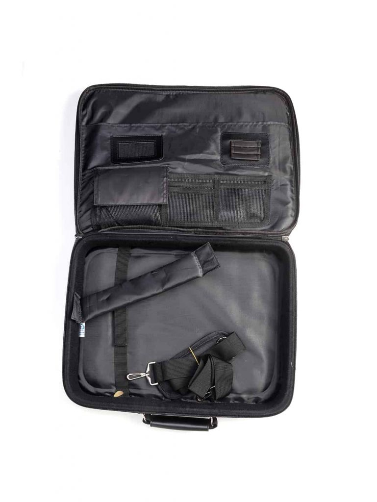 tefillin bag open