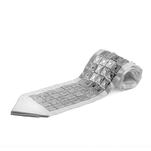 , Atara – Silver plated Shiny – Squares – 5 rows, Jewish.Shop