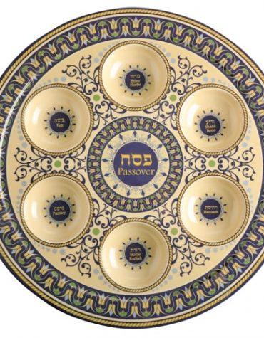 Bamboo Seder Plate