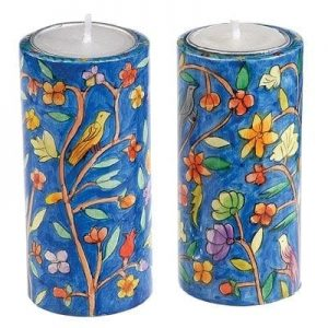 Big Round Candlesticks Oriental