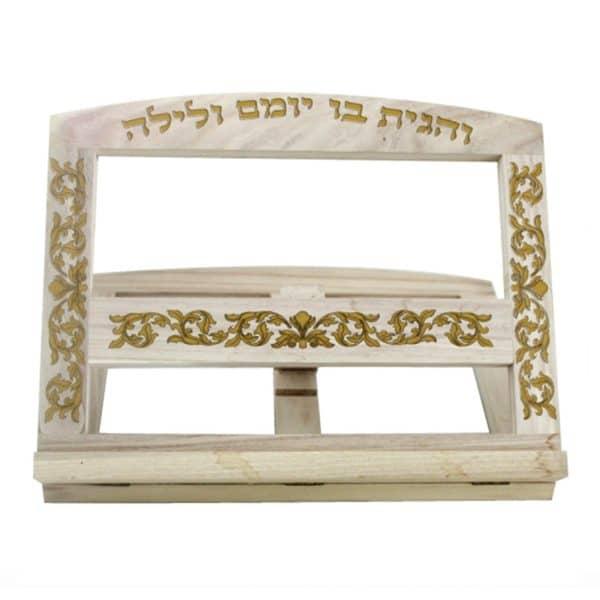 , Wooden Shtender – Simple, Jewish.Shop
