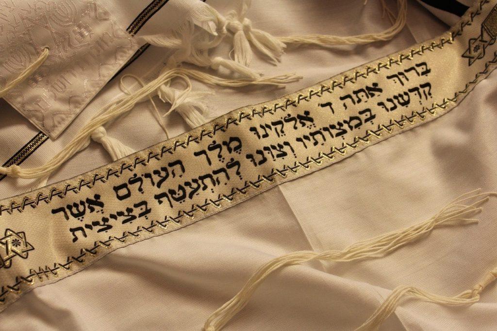 dirty prayer shawl