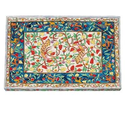 , Challah Board – Painting on Wood – Oriental, Jewish.Shop