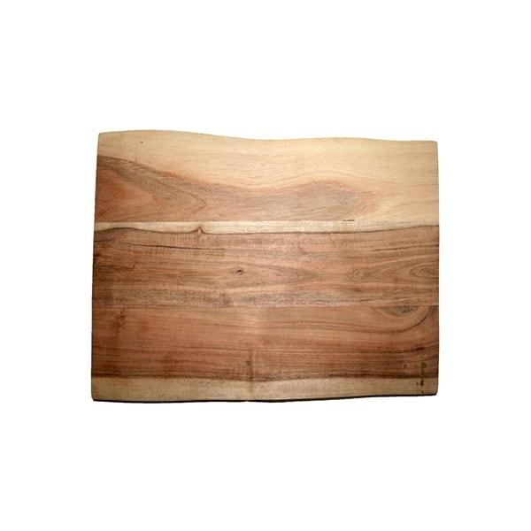, Challah Wooden Board – natural rectangle, Jewish.Shop