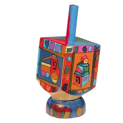 , Small Dreidel (NGHP) – children's drawings, Jewish.Shop