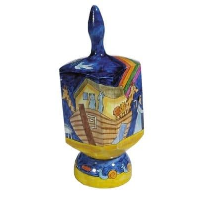 , XL Dreidel (NGHP) – Noah's ark, Jewish.Shop