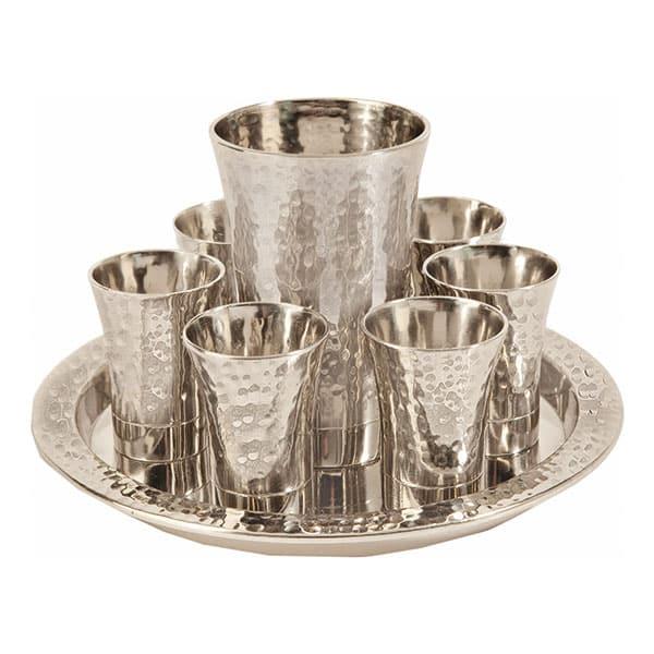 , Kiddush Fountain set – hammer work, Jewish.Shop