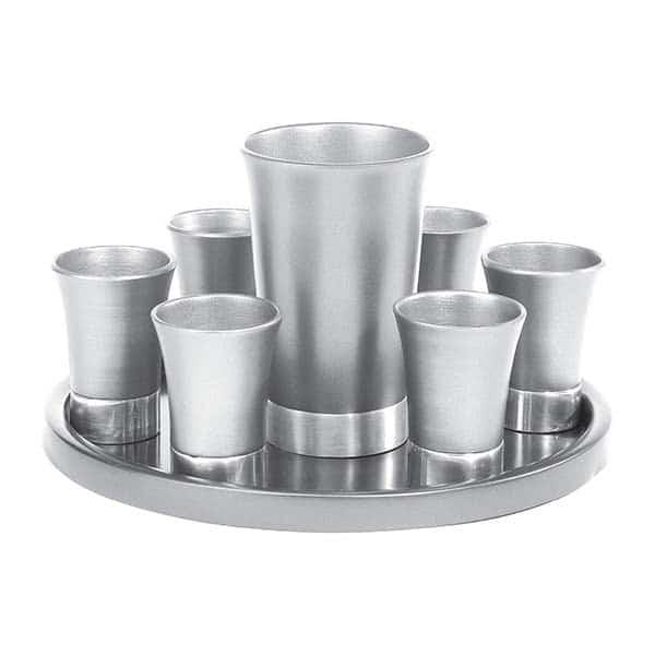 , Kiddush Fountain set – aluminum, Jewish.Shop