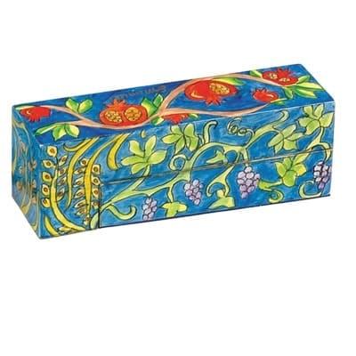 , Menorah in a box – Pomegranate s, Jewish.Shop