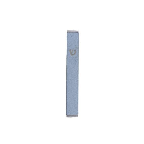 , Small Mezuzah Case (8 cm) – azure, Jewish.Shop