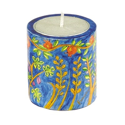 , A candle holder – a pomegranate tree, Jewish.Shop