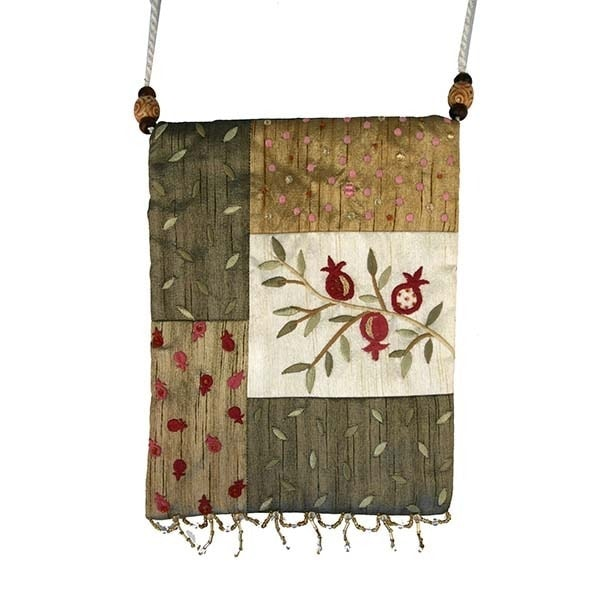 , Side bag – Pomegranate s in the app – green, Jewish.Shop