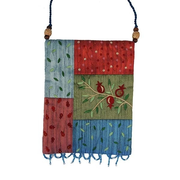 , Side bag – Pomegranate s in the app – colourful, Jewish.Shop