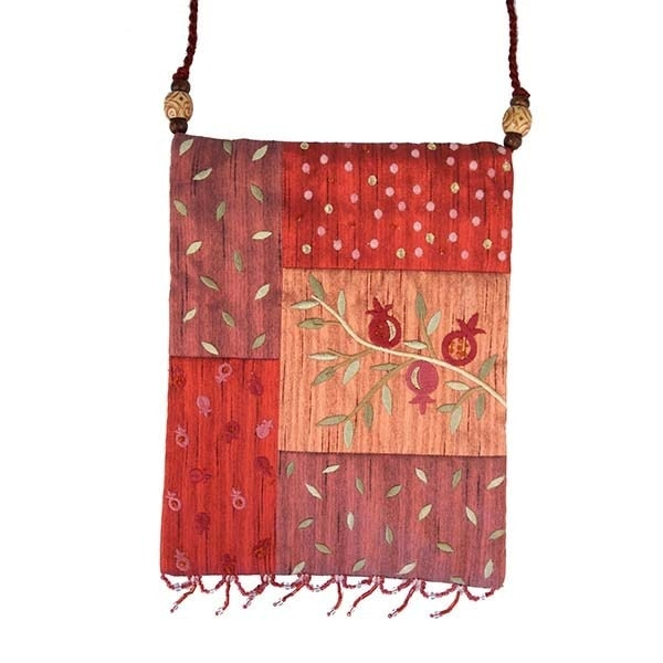 , Side bag – Pomegranate s in the app – red, Jewish.Shop