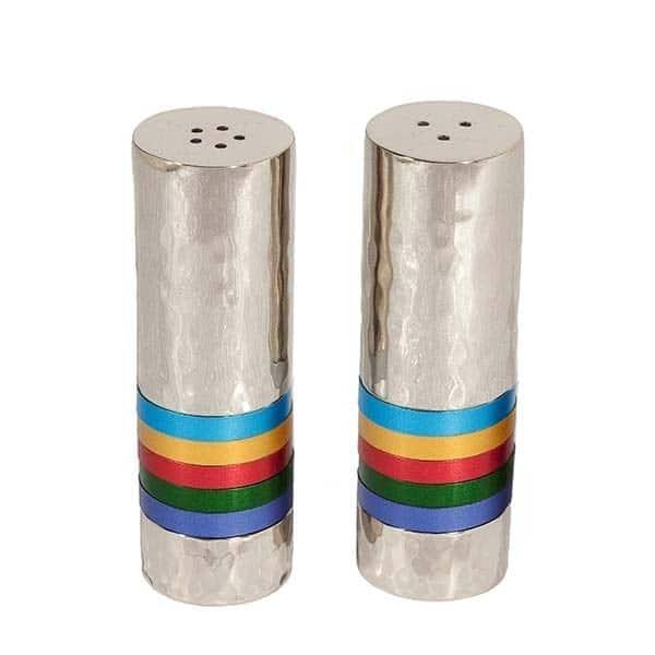 , Pepper Salt Set – Hammer – Colorful Rings, Jewish.Shop