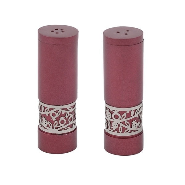 , Pepper salt – burgundy – pomegranate, Jewish.Shop