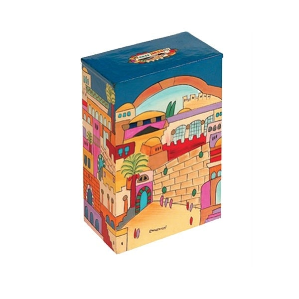 , Tzedakah box- Jerusalem, Jewish.Shop