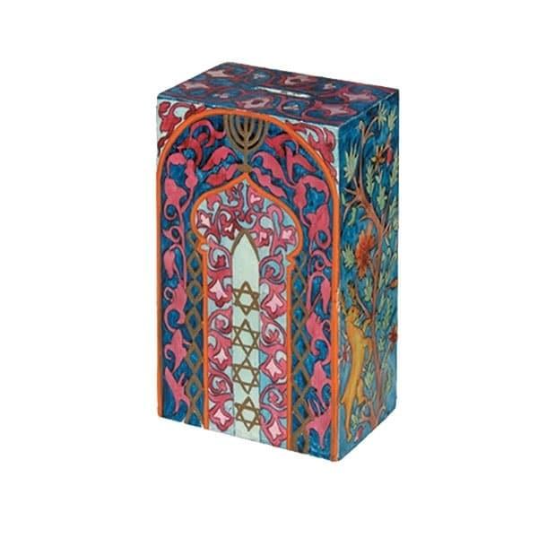 , Tzedakah box – Tree of Life, Jewish.Shop