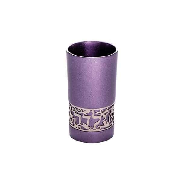 ", Children's Cup ""Good Girl – Straight"" Purple, Jewish.Shop"