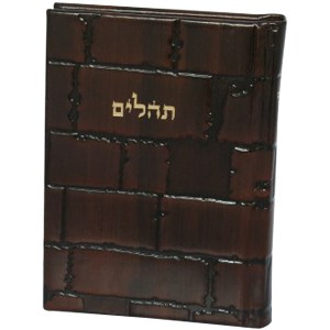 ", Tehilim ""Barchi Nafshi"" with the Western Wall cover, Jewish.Shop"
